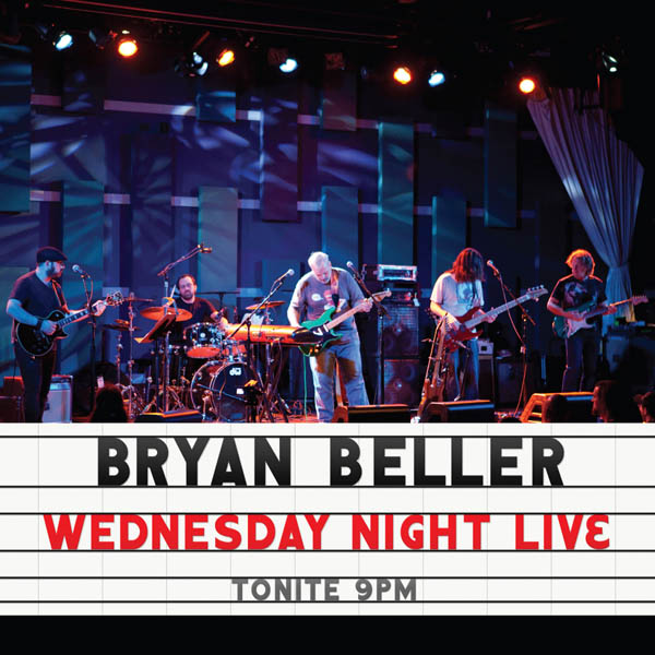 BRYAN BELLER (AUDIO CD) Wednesday Night Live