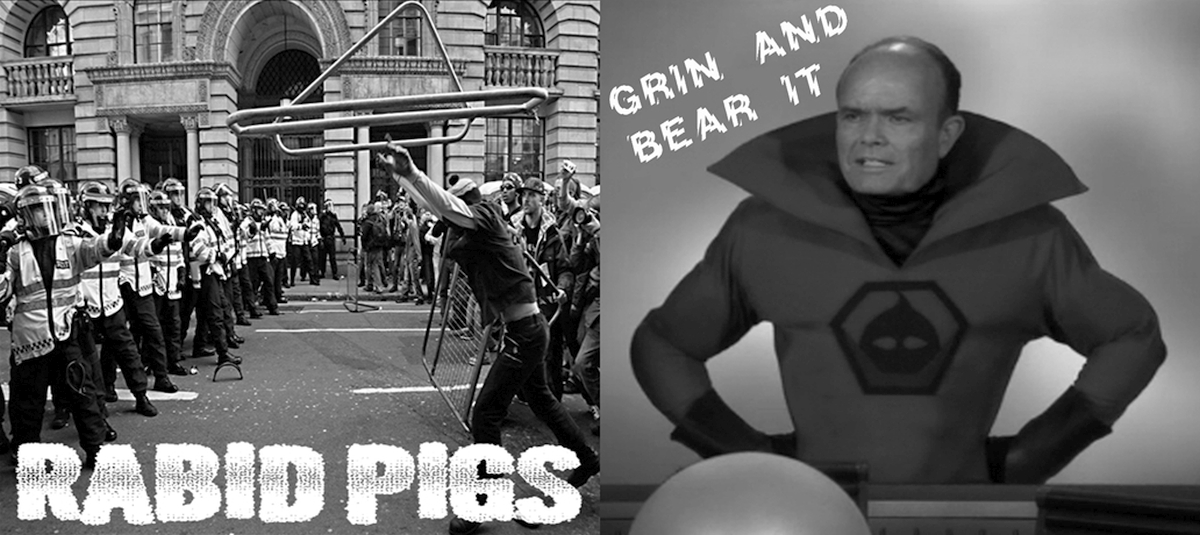 Grin And Bear It / Rabid Pigs | Split | 7