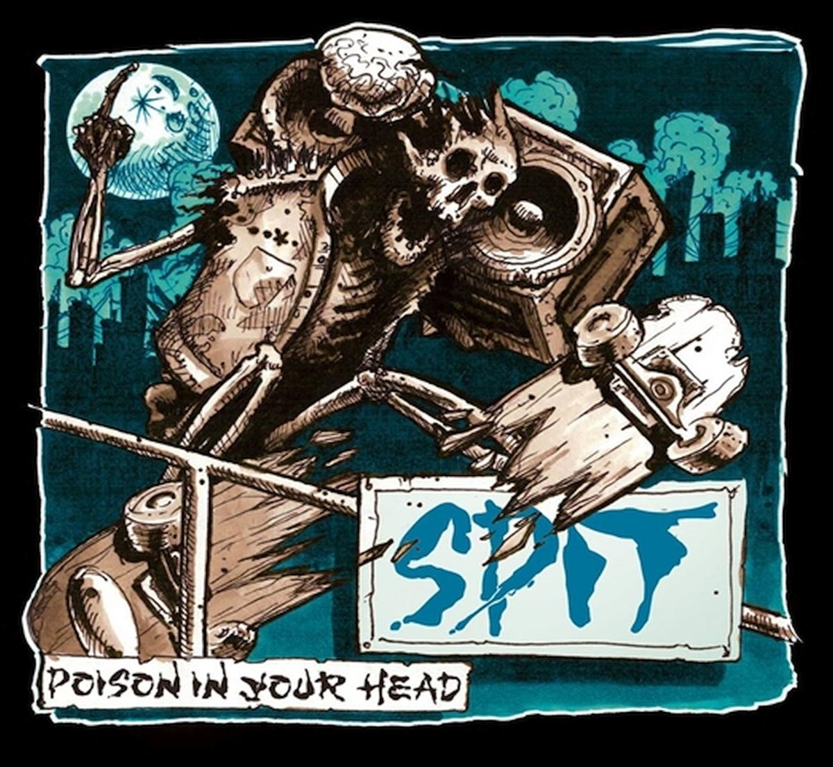 Spit | Poison In Your Head | LP (Black)